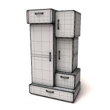 4560 家居用品摆设-生活办公用品-其它-CG模型-3D城