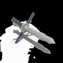 卫星-科技医疗-航天卫星-CG模型-3D城