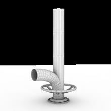 管道b-工业设备-零部件-CG模型-3D城