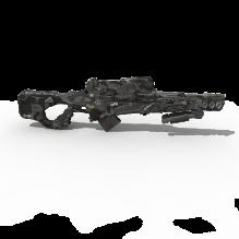 狙击枪-军事_武器-枪-CG模型-3D城