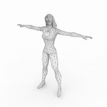 4女-人物_角色-角色-CG模型-3D城