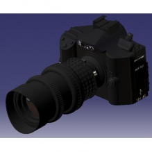 camera-CG模型-3D城
