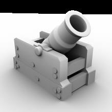 炮台-军事_武器-古代兵器-CG模型-3D城