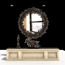 镜子-室内建筑-CG模型-3D城