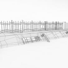 工厂场景-室外建筑-工业_厂房-CG模型-3D城