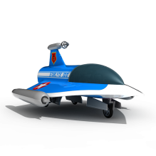 宇宙飞船-科技医疗-航天卫星-CG模型-3D城