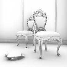 椅子-室内建筑-CG模型-3D城
