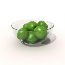 苹果-食品-水果-CG模型-3D城