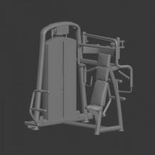 臂力训练机-体育_爱好-体育器材-CG模型-3D城