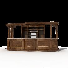 复古的吧台