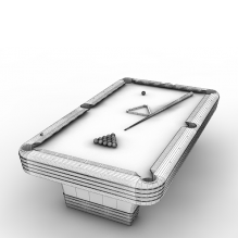 台球桌-体育_爱好-CG模型-3D城
