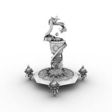 双龙戏珠柱子