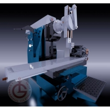 milling-machine CG模型