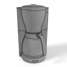 咖啡机-电子产品-家用电器-CG模型-3D城