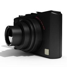 照相机-电子产品-数码产品-CG模型-3D城