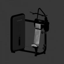 多功能训练机-体育_爱好-体育器材-CG模型-3D城