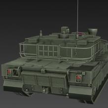 坦克-军事_武器-其它-CG模型-3D城