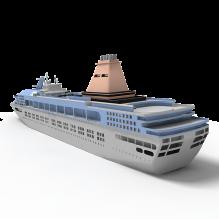 游轮-船舶-其它-CG模型-3D城
