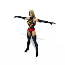 女-人物&角色-角色-CG模型-3D城