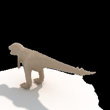 恐龙-动物-科幻-CG模型-3D城