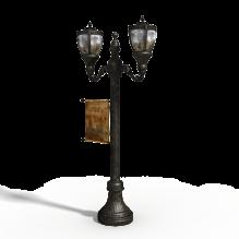 古典路灯-工业设备-工具-CG模型-3D城