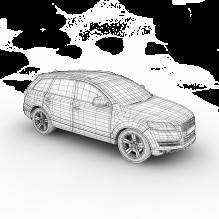 奥迪车q7-汽车-家用汽车-CG模型-3D城