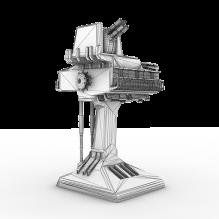 防卫塔-军事_武器-科幻-CG模型-3D城