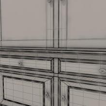 欧式储物柜-家居-柜子-CG模型-3D城