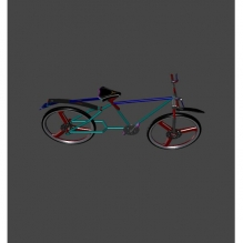 bicycle-CG模型-3D城