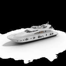 游艇-船舶-轮船-CG模型-3D城
