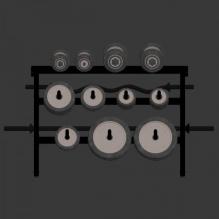 哑铃-体育_爱好-体育器材-CG模型-3D城