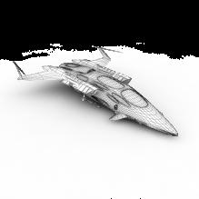 飞船b-飞机-私人飞机-CG模型-3D城
