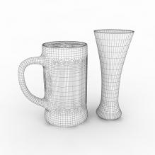 啤酒-食品-饮料-CG模型-3D城