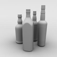 酒-食品-饮料-CG模型-3D城