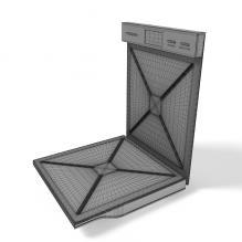 西门子电烤机-电子产品-家用电器-CG模型-3D城