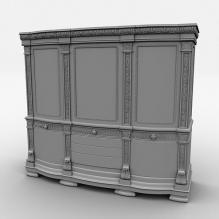 欧式柜子-家居-柜子-CG模型-3D城