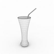 可乐-食品-饮料-CG模型-3D城