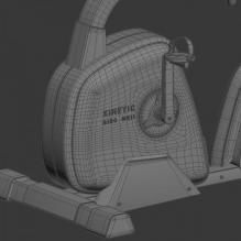 动感单车-体育_爱好-体育器材-CG模型-3D城