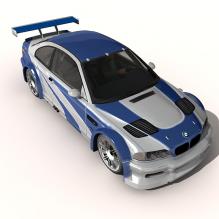 宝马车-汽车-家用汽车-CG模型-3D城