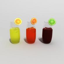 饮料-食品-饮料-CG模型-3D城