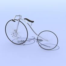 自行车陈设品-汽车-自行车-CG模型-3D城