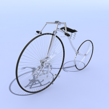 自行车陈设品