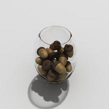 榛子-食品-其它-CG模型-3D城