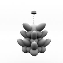 吊灯-家居-灯具-CG模型-3D城