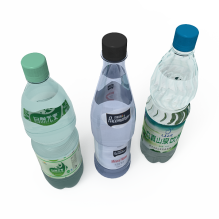 矿泉水-食品-饮料-CG模型-3D城