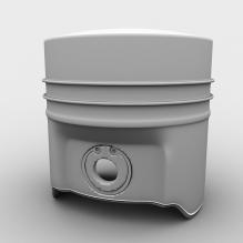 汽车活塞式内燃机-工业设备-零部件-CG模型-3D城