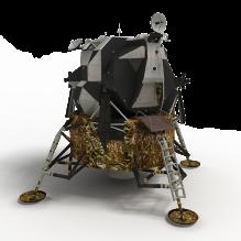阿波罗登月舱的宇宙飞船-军事_武器-其它-CG模型-3D城