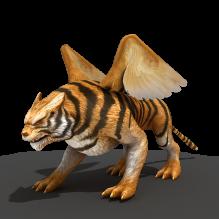 天池飞虎-动物-科幻-CG模型-3D城