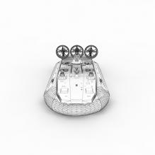 大型气垫军舰-军事_武器-其它-CG模型-3D城