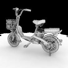电动车-汽车-自行车-CG模型-3D城